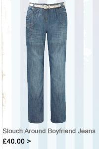 Slouch Around Boyfriend Jeans